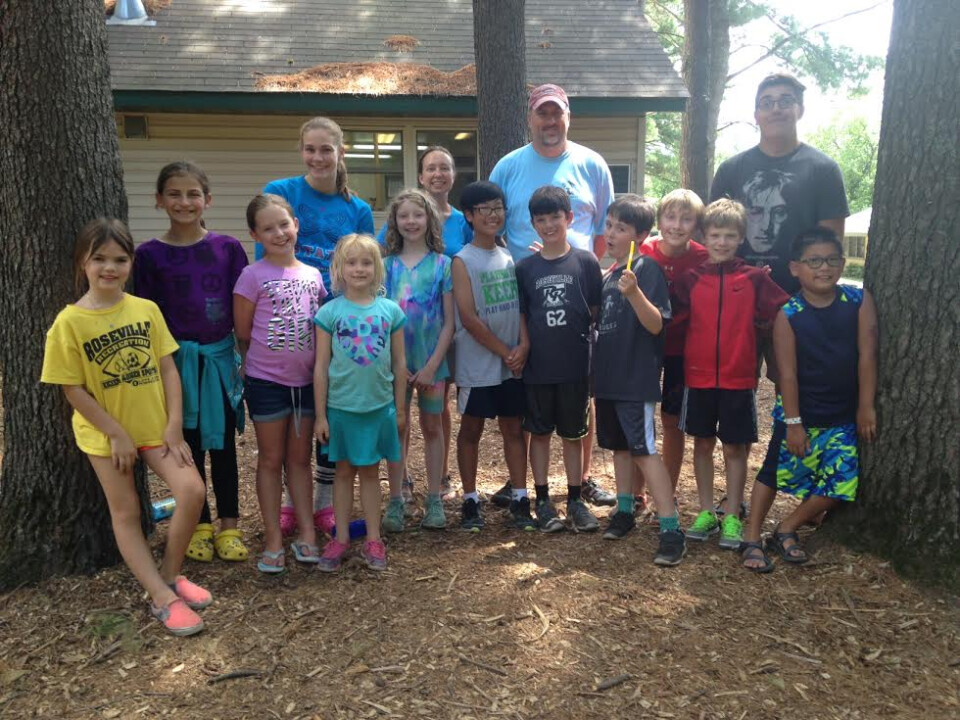 Camp Salie –A First Camping Experience for Kids!