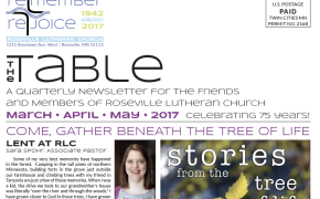 Read the latest edition of The Table!