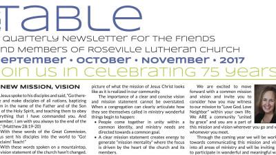 Table Newsletter Sept-Oct-Nov