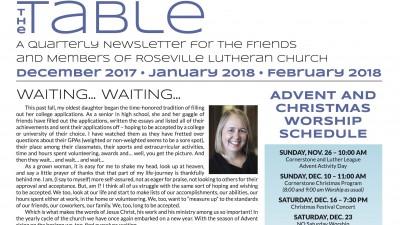 Table Newsletter Dec-Jan-Feb