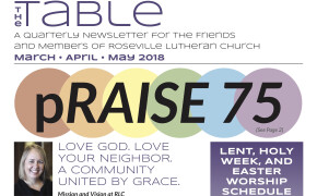 Table Newsletter March-April-May 2018
