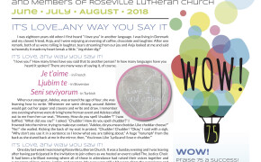 Table Newsletter June-July-August 2018