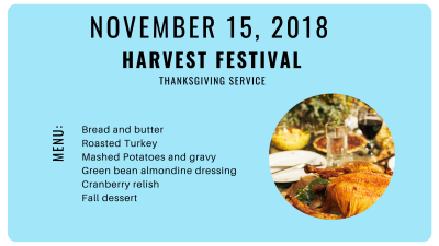 Prime Time –Harvest Festival