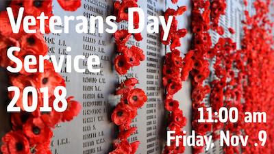 Veterans Day Service