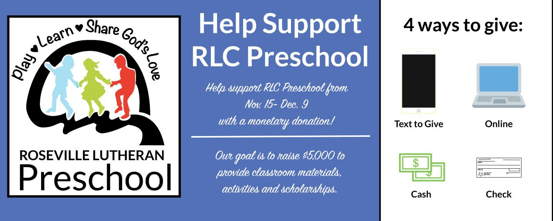 RLC Preschool Rotor