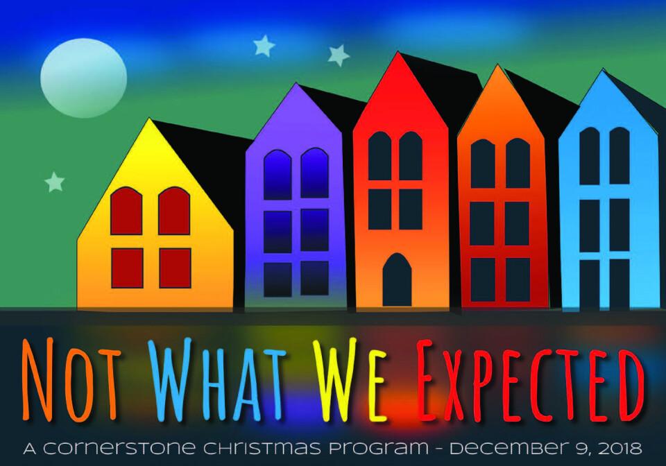 Cornerstone Christmas Program