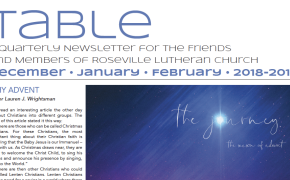Table Newsletter December–January–February 2018-19