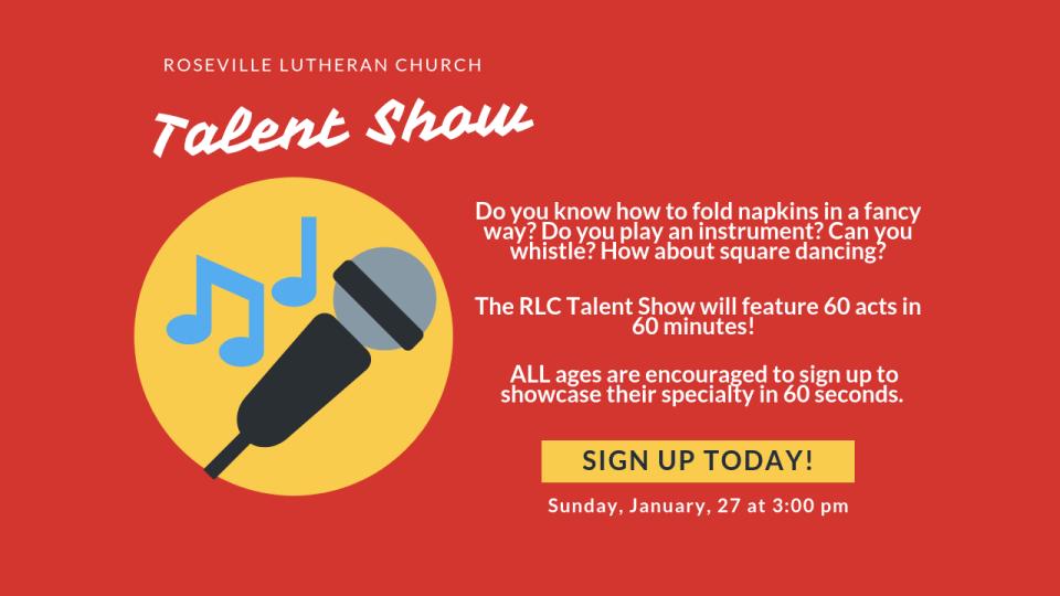 RLC Talent Show