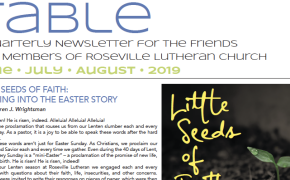 Table Newsletter June-July-August 2019