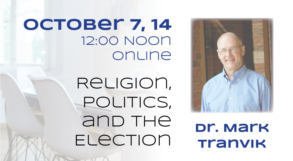 Religion, Politics, and the Election (2)