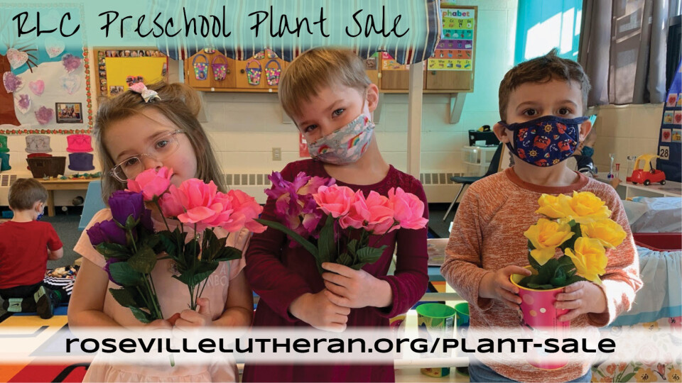 RLC Preschool Plant Sale Deadline