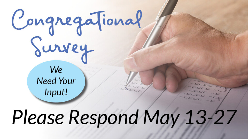 Congregational Survey