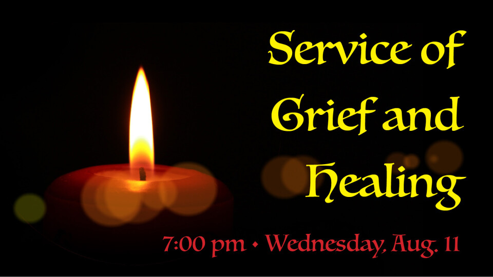 Service of Grief and Healing