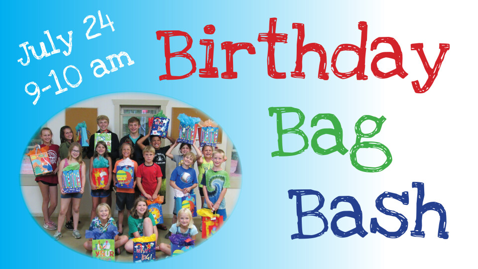 Birthday Bag Bash