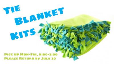 Tie Blanket Return
